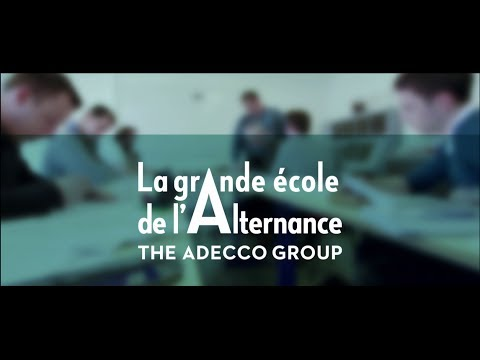La Grande Ecole de l'Alternance de The Adecco Group
