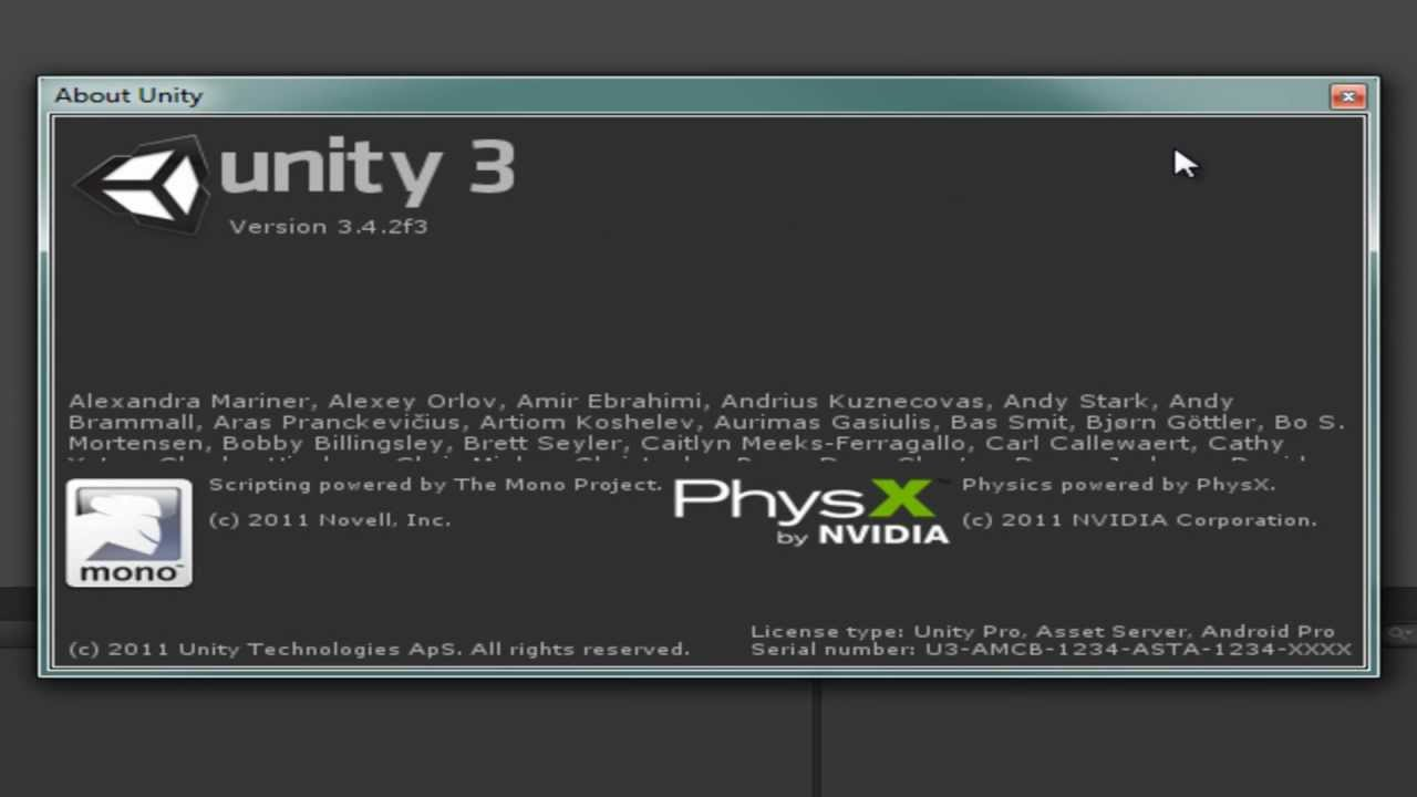 portable version of unity