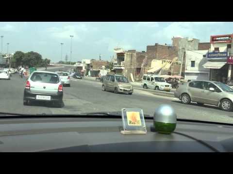 Wrong side driving at Dabri Mod