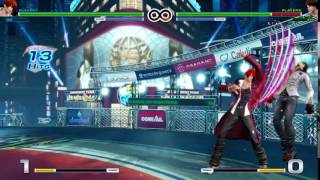 The King of Fighters XIV Combos - Iori (7/14)