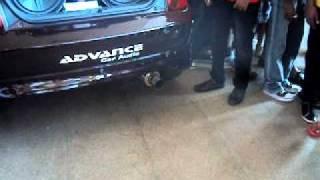 Backfire In A Car In Srilanka