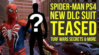 Spider Man PS4 DLC THINGS YOU LIKELY MISSED, New DLC Suit Tease & Way More (Spiderman PS4 DLC)