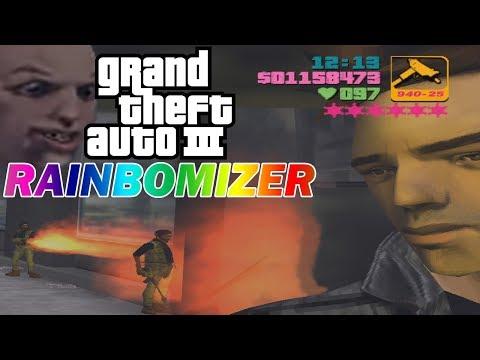 Grand Theft Auto III Rainbomizer Speedrun - Randomizing Weapons, Cars, Car Colors, And More!
