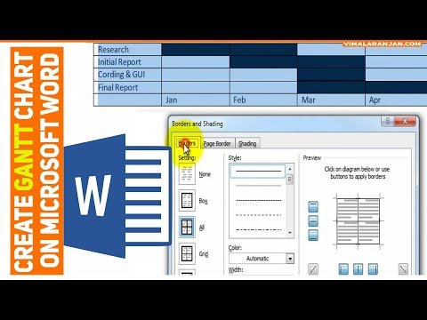 How To...Create a Basic Gantt Chart in Excel 2010 from YouTube · Duration:  6 minutes