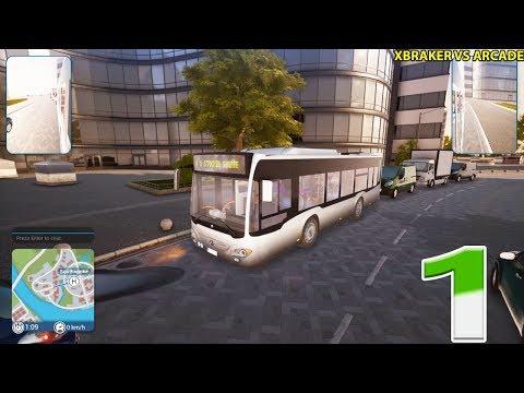 Bus Simulator 18 - Mercedes-Benz Bus - Week 1-2 - Gameplay PC Walkthrough Part 1 |