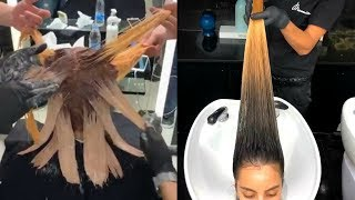Amazing Hair Color Transformations | 11 New Haircut and Hairstyle Ideas Compilation 2019