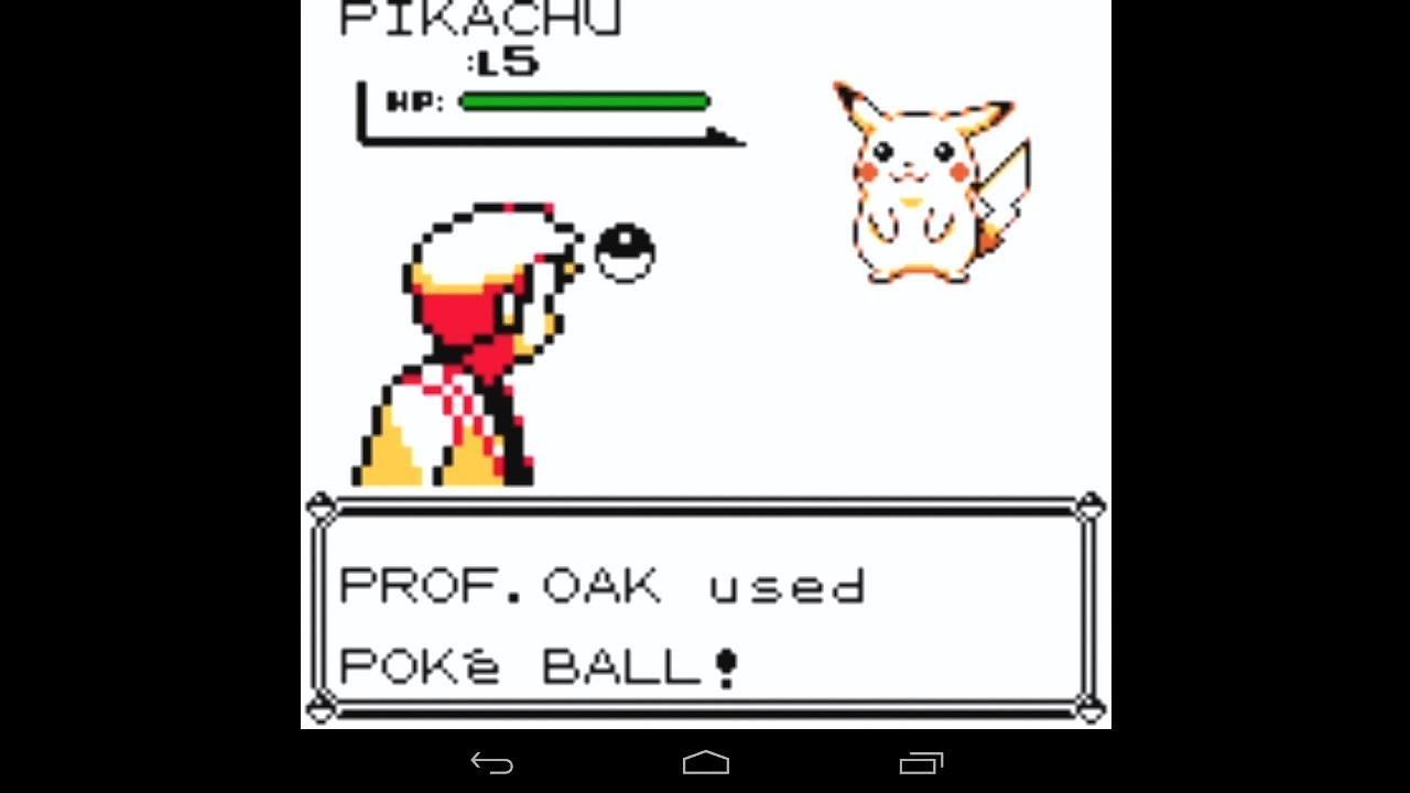 pokemon yellow emulator
