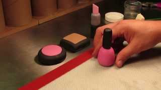 How To Make A Gumpaste Nail Polish