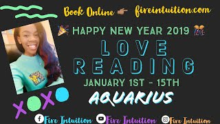 Aquarius - Someone's In Love With You! They Want Commitment, But..... Jan 1st - 15th