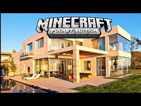 Casa moderna minecraft pe video search for Mirote y blancana casa moderna