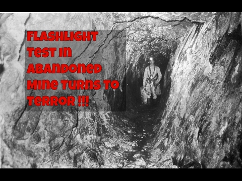 Flashlight Test In Abandoned Mine Turns To Terror | Haunted Review
