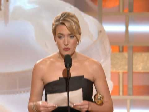 Kate Winslet Wins Best Supporting Actress Motion Picture Drama - Golden Globes 2009