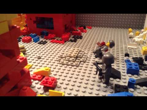 Lego WW2 Battle With Partisans
