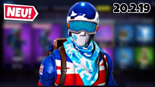 FORTNITE DAILY ITEM SHOP 20.2.19 | SKI SKINS ARE AGAIN ON THIS!