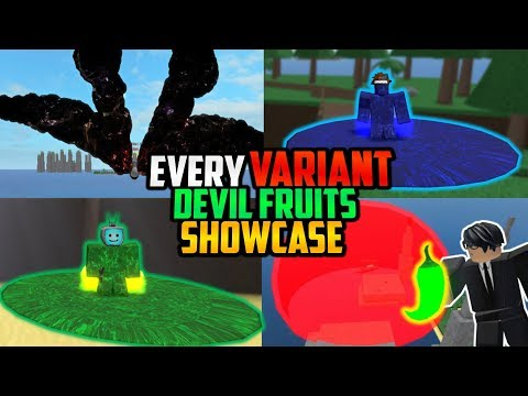 🌟 Every VARIENT DEVIL FRUIT Showcase In One Piece Open Seas!