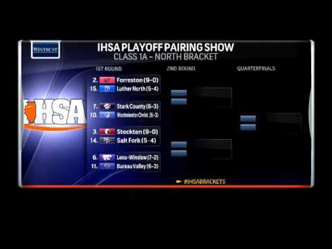 IHSA Football Playoff Pairings Show: Breaking Down Class 1A