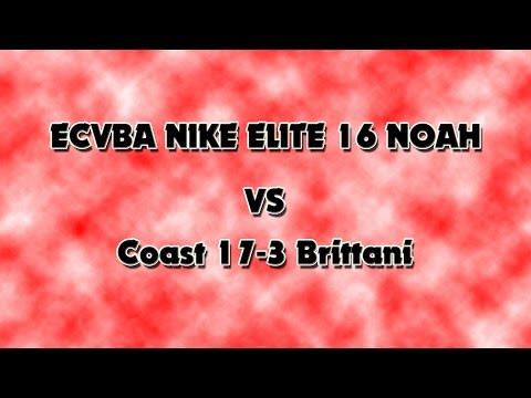 Las Vegas Classic 2016 ECVBA 17 Elite Noah vs. Coast 17-3