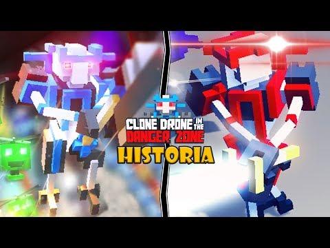 la-historia-de-dos-grandiosos-heroes-robot-|-clone-drone-in-the-danger-zone