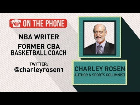Gottlieb: Charley Rosen talks Phil Jackson and Carmelo Anthony