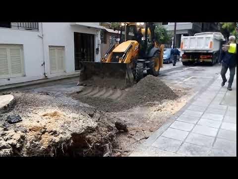 Απομάκρυνση δέντρου στην οδό Ατσιπάδων