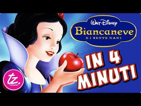 BIANCANEVE E I SETTE NANI   Raccontato in 4 Minuti - Classico Film Disney