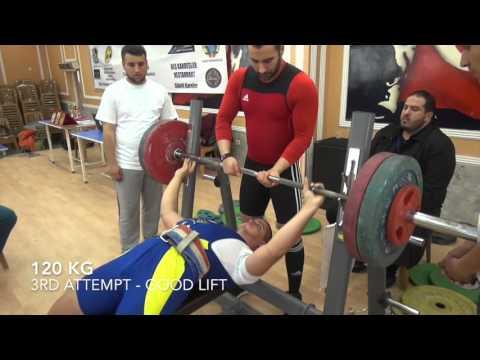 Powerlifting - IPSU Turkey Nationals - Push Pull (Bench Press and Deadlift)