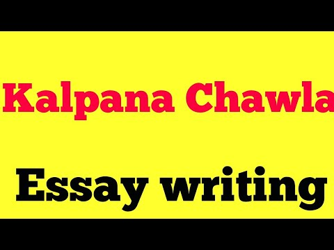 essay on kalpana chawala in punjabi language