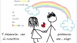 Kate Nash - The nicest thing ( Animación) Lyrics  + Sub español
