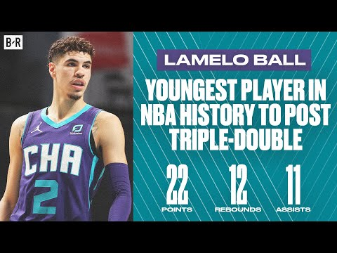 LaMelo Ball Posts First Triple-Double At Age 19