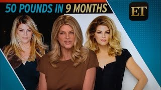 Kirstie Alley Shows Off 50-Pound Weight Loss