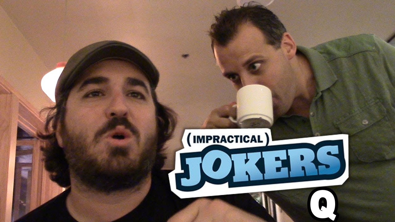 Q speed dating impractical jokers