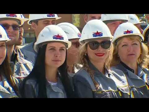Владимир Путин побывал в Приморском крае на судостроительном заводе «Звезда»