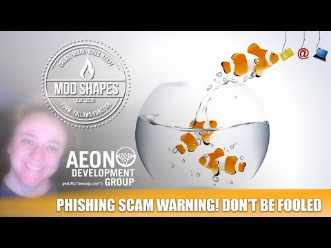 Warning! If you get this email its a Scam.  Aeon Development.