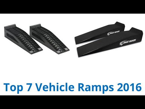 7 Best Vehicle Ramps 2016
