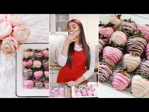 Chocolate Covered Strawberries | Easy Valentine's Day Recipe