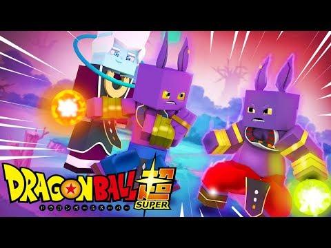 Minecraft: DRAGON BALL SUPER - BILLS VS CHAMPA IRMÃOS DA DESTRUIÇÃO ! 4