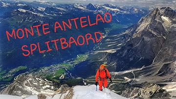 ANTELAO SCI ALPINISMO - INVERNALE - SUL RE DELLE DOLOMITI IN SNOWBOARD