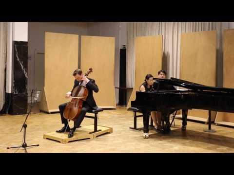 Strauss - Cello sonata op 6