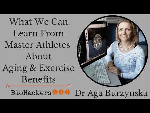 Dr Aga Burzynska: Masters Athletes Secrets on Benefits of Regular Exercise as We Age