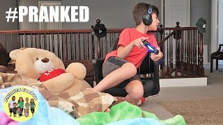 THE BEST AND WORST GIANT TEDDY BEAR PRANK EVER when BIG TEDDY BEAR COMES TO LIFE