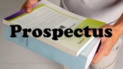 What is a Prospectus?