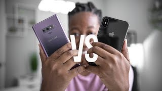 Samsung Galaxy Note 9 vs iPhone X Camera Test!