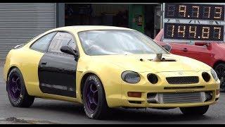 700hp Toyota Celica 1/4 Mile 9.71 @ 144mph