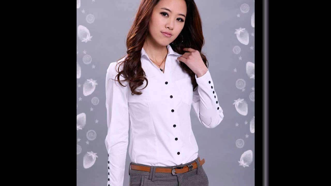 Блузы для женщин, блузка на одно плечо, блузки 2016 - YouTube