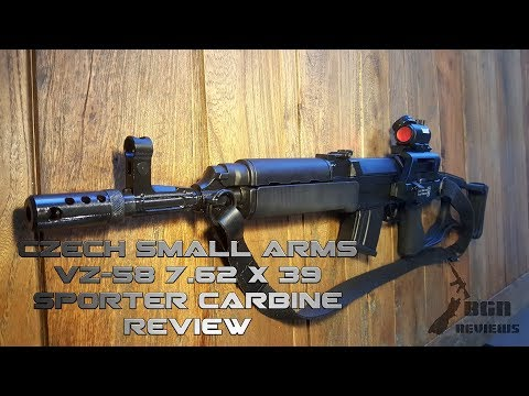 Punching above its weight! VZ-58 Sporter Carbine 7.62 x 39 Review Czech Small Arms