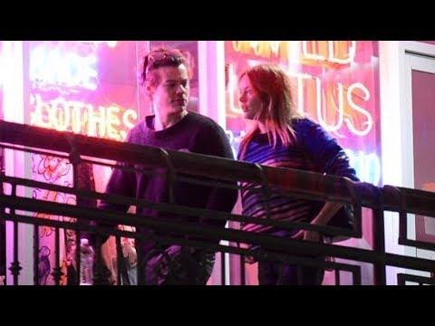 Harry Styles and girlfriend Camille Rowe walking around LA (2018)