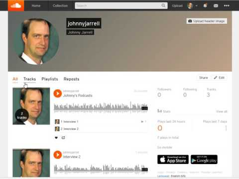Creating and sharing playlists on Soundcloud