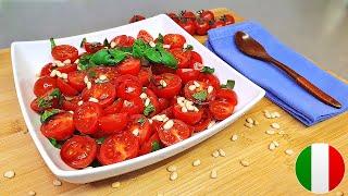 Освежающий Салат из Помидор с Изысканной Итальянской Приправой / Простой и Вкусный Рецепт за 5 минут