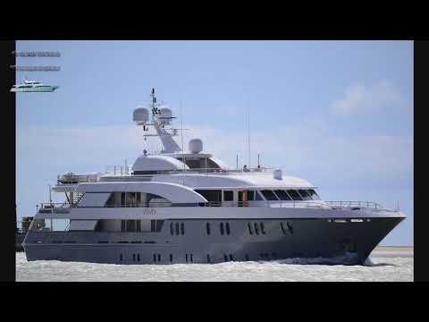 HADIA - Yacht - Cayman Islands  (Корабли и суда мира.Слайдшоу)