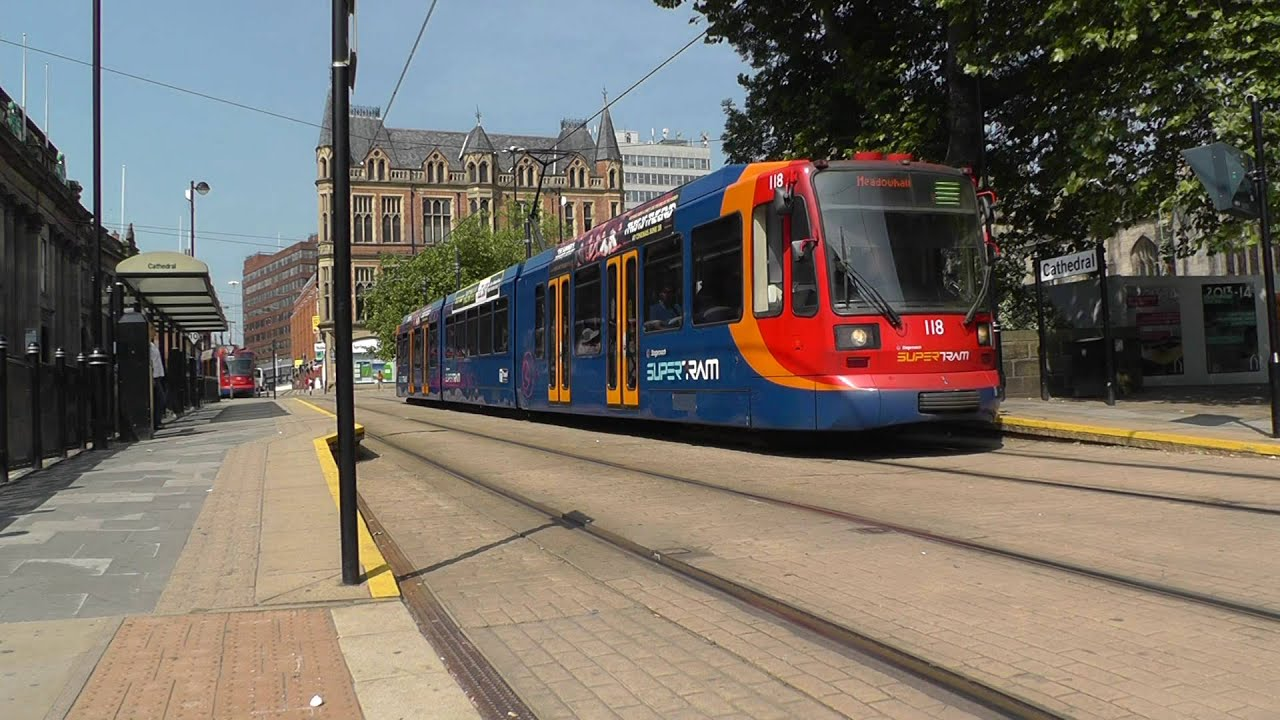 Sheffield Railway Station and Supertram - Wednesday 27th March ...